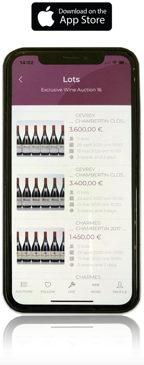 Best Wine Auctions iPhone應用程序
