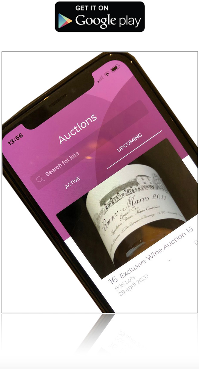 Best Wine Auctions Aplicación Google Play